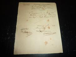 1 LOT DE DOCUMENTS - CONNAISSEMENT 1851 AGDE HERAULT - DECLARATION D'EMBARQUEMENT 1834 M- DOCUMENTS DE DOUANES 1848-1862 - Boats
