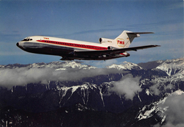 Vliegtuig Aircraft  TWA     Boeing 727 En Vol             X 748 - 1946-....: Ere Moderne