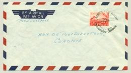 Suriname - 1953 - 1e Vlucht Paramaribo - Coronie Door Vliegbedrijf Kappel - Van Eyck - Suriname ... - 1975