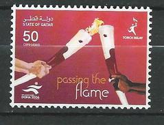 Qatar 2006 The 15th Asian Games, Doha - Torch Relay.sport.MNH - Qatar