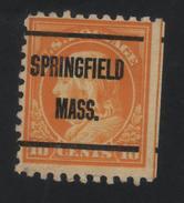 USA  872 SCOTT 472--MICHEL 232K SPRINGFIELD MASS. - Estados Unidos