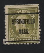 USA  873 SCOTT 470--MICHEL 230K SPRINGFIELD MASS. - Estados Unidos