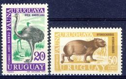 #Uruguay 1970. Fauna. Michel 1184-85. MNH(**). - Uruguay