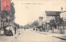 CPA 95  LA BARRE ROUTE DE SAINT LEU 1905 - Deuil La Barre