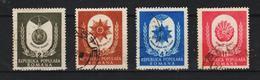 1951, COMMEMORATION DE 1er MAI MI No 1255A /1258A  Et Yv 1142/1145