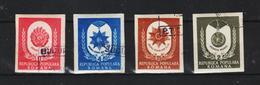 1951, COMMEMORATION DE 1er MAI MI No 1255B /1258B  Et Yv 1142/1145 NON DANTELE