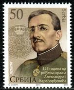 Serbia 2013   125 Years Anniversary King Alexander I, Kingdom Of Yugoslavia, MNH - Serbia