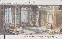 Télécarte Ancienne Japon / 110-4182 - MUSIQUE - OPERA - MANON LESCAUT By PUCCINI - Japan Front Bar Phonecard / A AUSTRIA