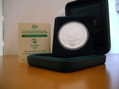 AUSTRALIA 5 $ DOLLARS 2000 SILVER PROOF OLYMPIC GAMES SYDNEY - Mint Sets & Proof Sets
