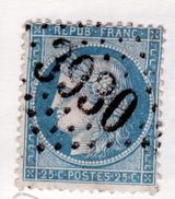 OBLITERATION GC 3930, THENON - Marcophilie (Timbres Détachés)