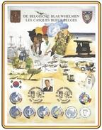 Speciale Herdenkingskaart De Belgische Blauwhelmen - Belgique
