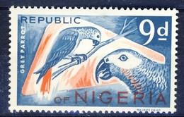 #Nigeria 1966. Bird. Parrot. Michel 182A. MNH(**)