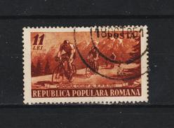 1951 - Tour De Roumanie Cycliste Michel No 1263 Et Yv No 1150