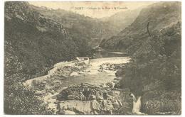 CPA Bort, Corrèze, Gorges De La Rue à La Cascade,  Circulée En 1912 - Frankreich
