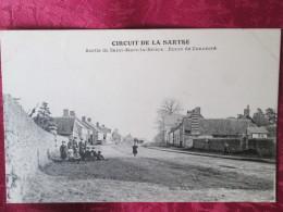 CIRCUIT DE LA SARTHE .   SORTIE DE SAINT MERS LE BRIERE . ROUTE DE CONNERRE - France