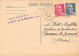 Carte Postale - Entier Postal Marianne 5 F + Timbre Marianne 3 F - Le Mont Par La Petite Raon - Postal Stamped Stationery