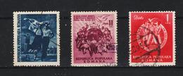 1951 - 3 Festival De La Jeunesse A Berlin Mi No 1264/1266 Et Yv No 1152/1154