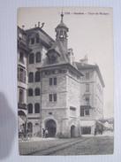 CPA  GENEVE Tour Du Molard T.B.E . 1911 Animée - GE Geneva