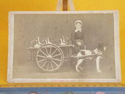 Autres Collections > Photographie > Photos > Photos -Originales > Personnes Anonymes,Laitière Flamende Avec Charette - Personnes Anonymes