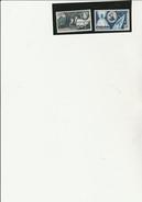 MONACO - POSTE AERIENNE N° 59 A 60 NEUF X  - ANNEE 1955   COTE : 50 €