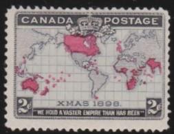 Canada    .     Yvert    73        .     *       .       Ongebruikt  .   /   .    Mint-hinged  VVLH - 1851-1902 Règne De Victoria
