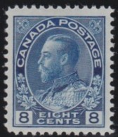 Canada    .     Yvert   .     115         .     *       .       Ongebruikt  .   /   .    Mint-hinged  VVLH - 1911-1935 Reign Of George V