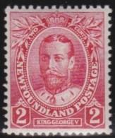Newfoundland      .    SG    .      118        .     *     .       Ongebruikt  .   /   .    Mint-hinged  VVLH - 1908-1947