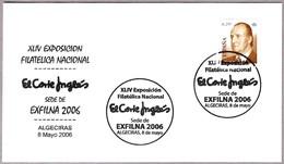 Matasellos EXFILNA 2006 - EL CORTE INGLES. Algeciras, Cadiz, Andalucia, 2006 - 1931-Hoy: 2ª República - ... Juan Carlos I