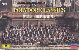 Télécarte Japon / 110-011 - MUSIQUE - WIENER PHILHARMONIKER & ORGUE Orgel Organ - Japan Phonecard AUSTRIA Rel / NFS - Musik