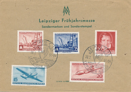 LEIPZIG - 1956 , Leipziger Frühjahrsmesse - DDR