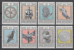 SERIE NEUVE DE SAINT-MARIN - ARMURES ET ARMES ANCIENNES DU MUSEE DE LA CESSA N° Y&T 865 A 875 - Militaria
