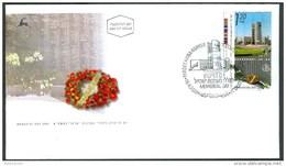 Israel FDC - 2001, Philex Nr. 1621, Mint Condition - FDC