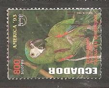 ECUADOR 1993 PARROT - Ecuador