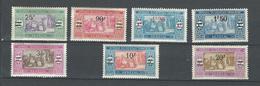 """Senegal YT 95 à 101 """" Tp De 1914 Surchargés """" 1924-27 Neuf* - Neufs"""