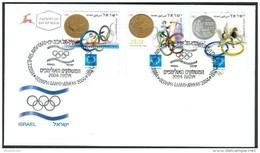 Israel FDC - 2004, Philex Nr. 1788-1790,  Mint Condition - FDC