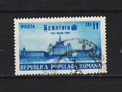 1951, 20 Anniv. Du Jornal SCANTEIA  Mi No 1274 Et Yv No 1160