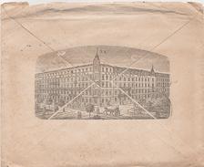 Stich Briefumschlag Brief Deutsches Reich 1900 Dresden Grand Union Hotel H. Schnelle Bismarckstraße Reichstraße Bahnhof - Historische Dokumente