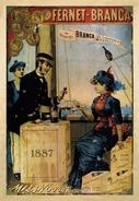 Aperitivo Fernet-Branca Milano 1887 - Postcard - Poster Reproduction (NP) - Advertising