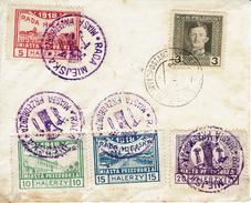 PRZEDBORZ - Michel 15 à 18 Série En Halerzy + Affranchissement Autrichienne - ....-1919 Provisional Government