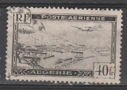N° PA 6 O Y&T 1946-1947 Avion Survolant La Rade D'Alger - Algérie (1962-...)