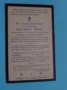 DP Jacobus POOT ( Theresia FLION / Amelie JANSSENS ) Overyssche 3 Dec 1833 - Hoeylaert 21 Juli 1910 ( Zie Foto´s ) ! - Religion & Esotérisme
