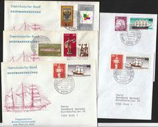 Germany Kiel 1977 / Kiel Week / Kieler Woche / Sailing / Ships