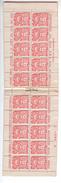 (n°634) 1 CARNET Superbe INDOCHINE De 20 Timbres 6ct  N° 132 A Baie D'Along Bande Publicitaire Conseil Postal  Neuf 1927 - Autres