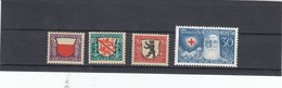 Suisse - Neufs**  -  Pro Juventute - Année 1928 - YT 231/234