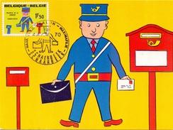 BELGIUM MAXIMAFILIE POSTE  MAXIMUN   (FEB170124) - Belgio