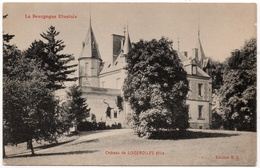 La Bussière Sur Ouche : Château De Loizerolles (l'Oiserolles) (Edition B. D.) - Autres Communes