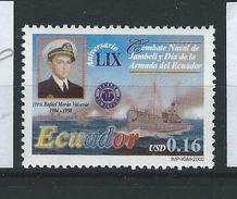 EC - 2000 - 2480 - The 59th Anniversary Of Jambeli Naval Battle  - ** -MNH - POSTFRISCH - Equateur