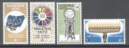 Nigeria 1970 - Michel 229 - 232 **