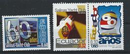 EC - 2000 - 2489-91 -  The 60th Anniversary Of Salinas Yacht Club  (2) - ** -MNH - POSTFRISCH - Equateur