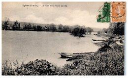 78 - EPONE --  La Seine Et La Pointe De L'Ile - Epone